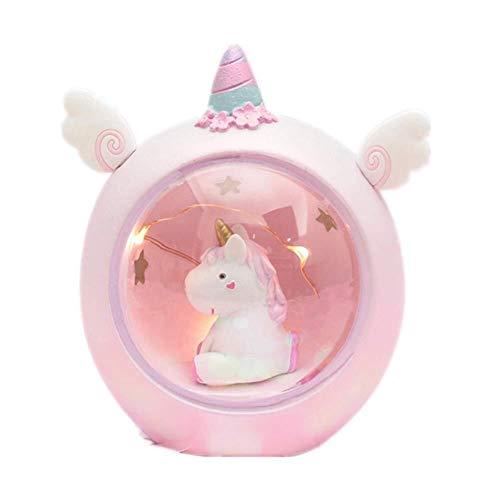 Simshew Multifunktionales Kindernachtlicht Einhorn Nachtlicht, LED-Licht, Kinder Nachtlampe, Baby Kinderzimmer Lampe Schlafzimmer Licht...