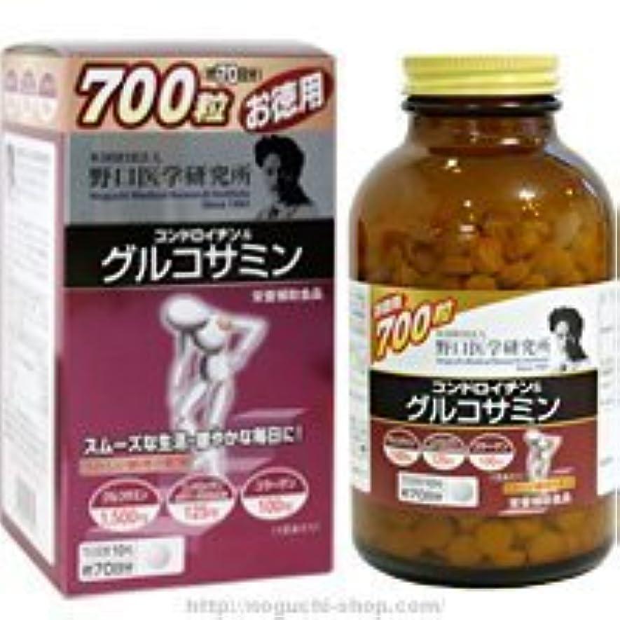 余韻なんとなく振動する野口医学研究所 コンドロイチン&グルコサミン700粒(お徳用)