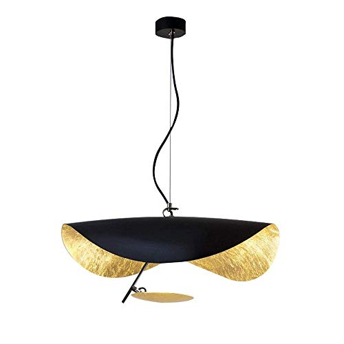 Chandelier, Modern Style plafond verlichting, Industrieel Loft Style for eetkamer, keuken, Coffee Bar, woonkamer, studeerkamer (Color : Black)
