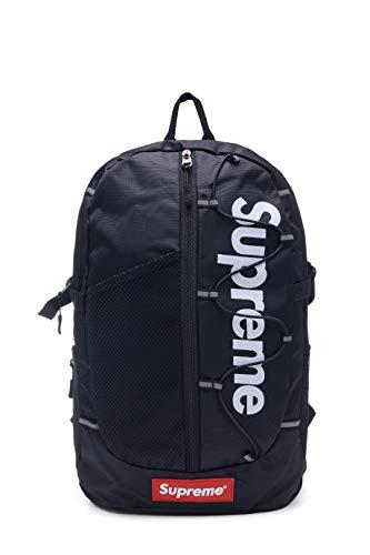Supremes Outdoor Rucksack Reisetasche für Fitnessstudio Sport Wandern Unisex Erwachsene Casual Daypack, Schwarz (Beige) - Supreme