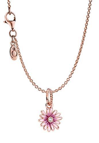 Pandora Rose 39452 - Collar para mujer, diseño de margarita rosa