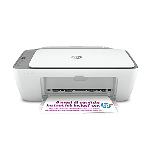HP DeskJet 2720e Stampante Multifunzione, 6 Mesi di Inchiostro Inclusi con HP+