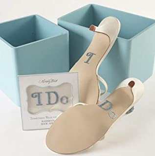 I Do Shoe Stickers by Mindy Weiss - I Do Stickers for Wedding Shoes