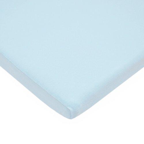 American Baby Co. Cotton Bassinet Sheet, Blue