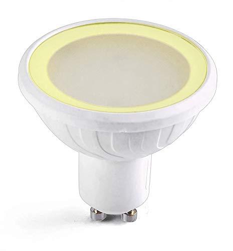 Easy Connect – LED-Leuchtmittel SMD GU10 MR20 warmweiß 3000 K dimmbar Milchglas 6,5 W Easy Connect – 67846 – EC-67846