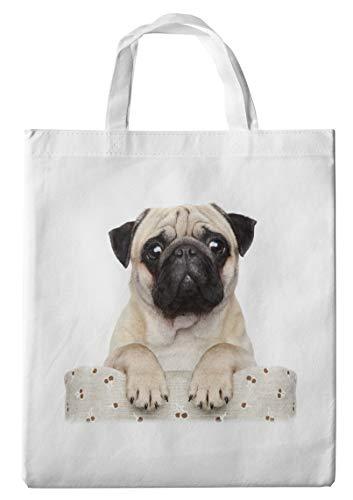 Bolsa de la compra/bolsa/Shopper/con asas–38x 42cm–Diseño: Carlino sobre sillón [15]