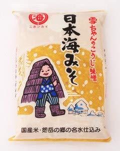 日本海味噌醤油 雪ちゃん こうじみそ 1kgX4袋