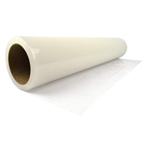 """ZIP-UP Products Carpet Protection Film - 24"""" x 50' Floor and Surface Shield with Self Adhesive Backing & Easy Installation - CPF2450"""