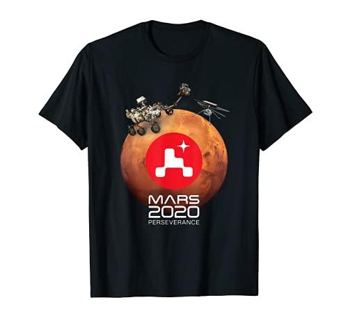 Marte Perseveranza Rover NASA Marte Sbarco Maglietta