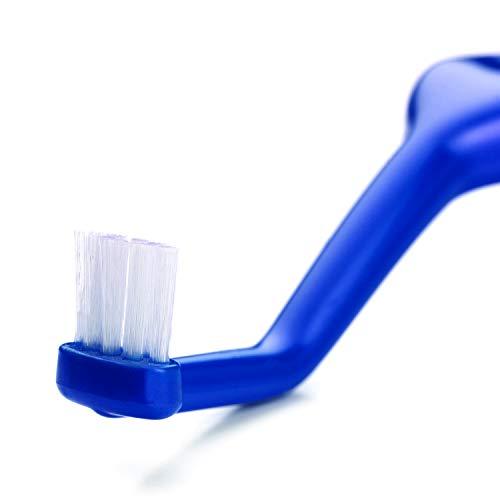 TePe Spezialzahnbürste Universal Care / Winkelbürste mit kleinem Bürstenkopf für eine vereinfachte Reinigung schwer zugänglicher Flächen, 1 x 1 Stück