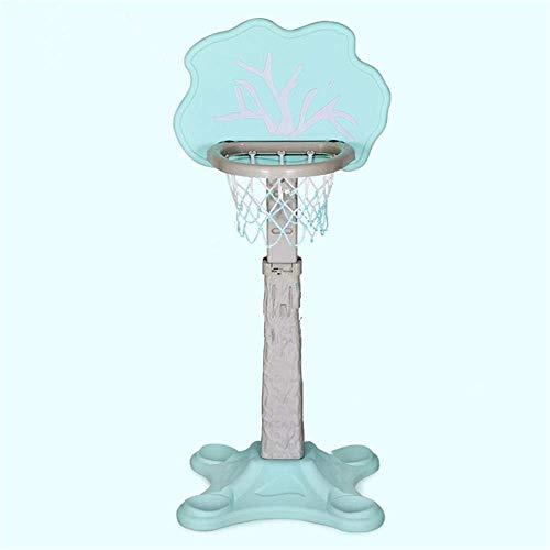 LQH Kinder Basketballkorb höhenverstellbar 120-160cm Haushalt Innenaußen Sport Eltern-Kind-Spielzeug-2 Farben Optional, Rosa (Color : Green)