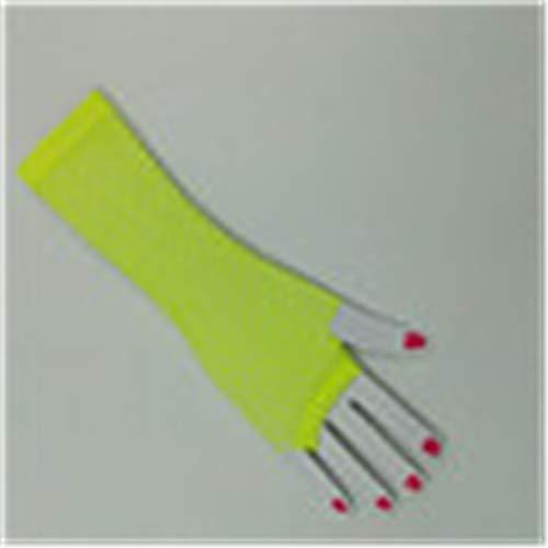 Desconocido Guantes para mujer UPF50+ de malla vacíos con protección UV, guantes...