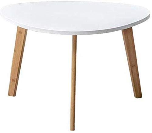 Oanzryybz Mesas de Escritorio del Ordenador portátil de bambú Muebles Artículos for el hogar Desayuno Libro de Lectura portátil Multifuncional (Size : 40 * 40 cm)