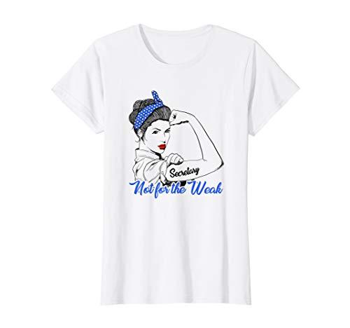 Damen Sekretärin Frau Geschenk Nicht für die Schwachen Niedlich  T-Shirt