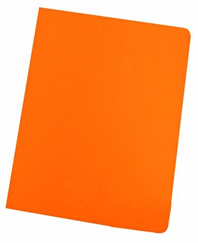 Elba Gio 400040486 - Pack de 50 subcarpetas simples, A4, color naranja