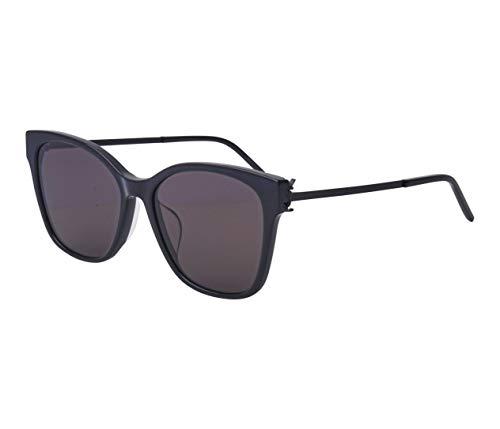 Yves Saint Laurent Sonnenbrillen (SL-M-48-S-K 001) schwarz glänzend - schwarz matt - grau