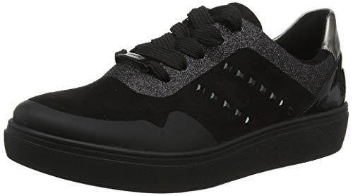 ARA Damen New York 1214516 Sneaker, Schwarz (Schwarz, Titan 05), 37.5 EU