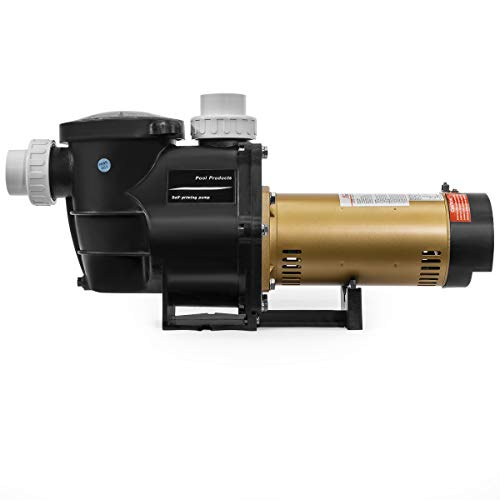 XtremepowerUS 75035-V 2.0HP Swimming Pump for In-Ground Pool Variable Speed 2' Inlet 230V High Flo...