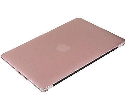 『Mosiso - MacBook Air 11インチ プラスチック ハードケース 薄型 耐衝撃 保護 シェルカバー (対応モデル:A1370 / A1465) (ローズ ゴールド)』の5枚目の画像