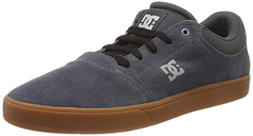 DC Shoes (DCSHI) Crisis-Low-Top Shoes for Men, Zapatillas de Skateboard Hombre, Charcoal, 38 EU