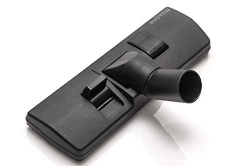 Premium 32mm umschaltbare Kombidüse, Staubsaugerdüse, Bodendüse für AEG, Numatic, Philips, einsetzbar auf Parkett, Teppich, Laminat, PVC, Fliesen