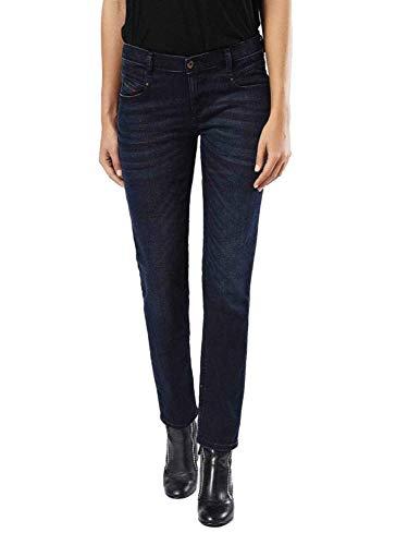 Diesel Belthy 0677J - Jeans da Donna a Vita Bassa, Stretch Blu 30W x 32L
