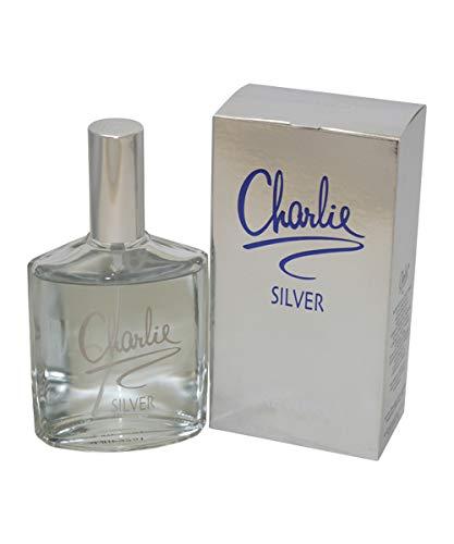 Revlon Charlie Silver femme / woman, Eau de Toilette, Vaporisateur / Spray 100 ml, 1er Pack (1 x 100 ml)