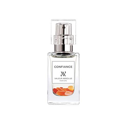 Valeur Absolue Confiance Perfume | Uniquely Crafted to Promote Positivity | Fruity & Spicy | Handmade in Southern France | 0.47 Fluid Ounces