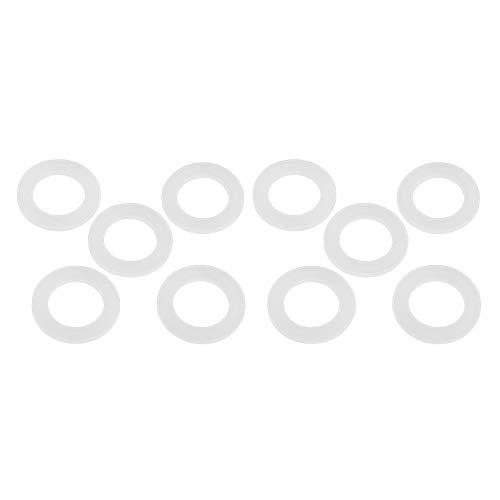 10pcs Joints Toriques de Chauffe-eau Joint de Silicone Bien Scellent Joints Plats Laveuse Insipidité Avirulent 1 1/4