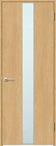 ラシッサS 標準ドア ASTH-LGM 錠付き 0620 W:734mm × H:2,023mm 吊元:左吊元 本体色/枠色:クリエペール(PP) 枠種類:ノンケーシング156(壁厚:116-130) 沓摺:なし 把手:サークルB 鍵種類:丸型表示錠 LI