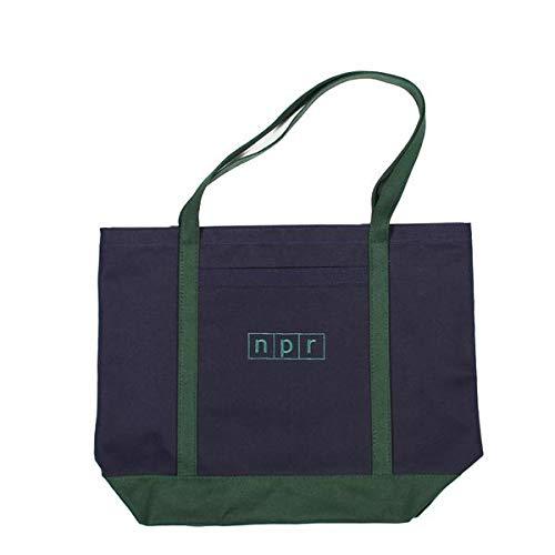 Large NPR Logo Boat Tote Bag