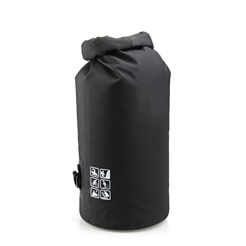 Lixiabeidai Rafting Packages, Surprisingly Waterproof Backpacks, Surf Dry Bags, Rafting Bags, Keep Mobile Phones and Items Waterproof and Dry When Used In Water Projects,Black-15L