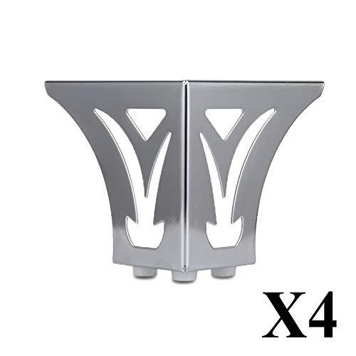 YXB Meubelvoeten Zilver patroon bank voet salontafel voet TV kabinet voet steun tafel been voet dik materiaal metaal ijzer bank kabinet benen
