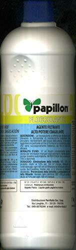 Papillon Floculante Agente filtrante de alto poder coagulante en paquete de 1 kg