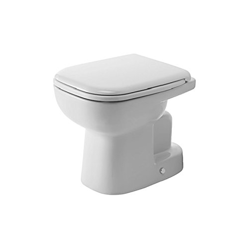 Duravit D-Code toiletbak, verticaal, wit
