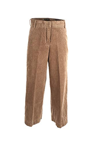 YES-ZEE Pantalone Donna 31 Beige P355 Fa00 2/20 Autunno Inverno 2020/21