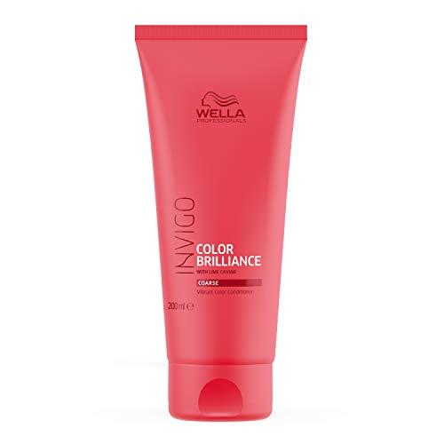 Wella Professionals Invigo Color Brilliance Conditioner for Fine/Normal Hair (Also Suitable for Colored Hair), 200 ml
