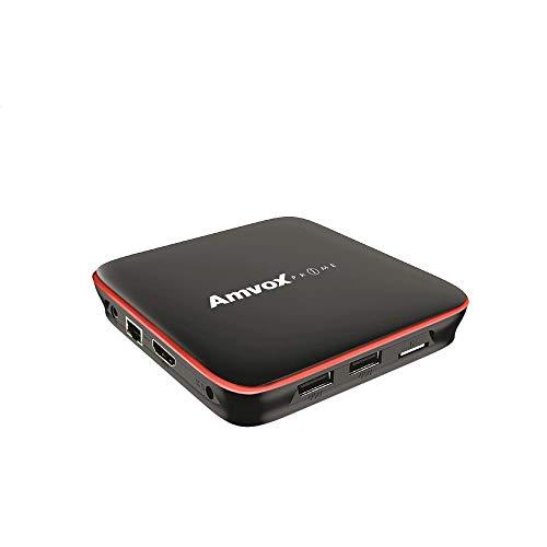 TV Box, Amvox, ATV 108, Preto