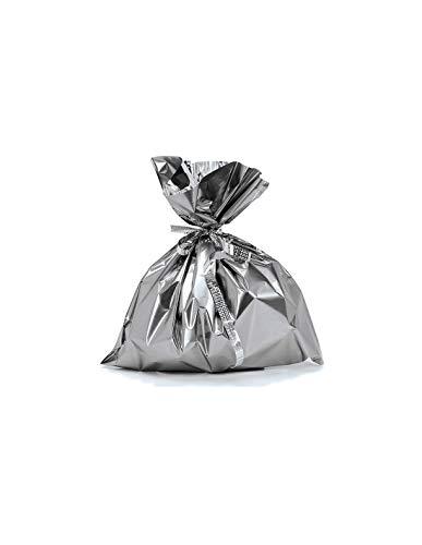 DISBACANAL Bolsa de cotillón vacía Metalizada - Plata, -