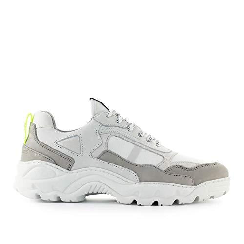 Filling Pieces Herren Schuhe Trimix Weiss Grau Sneaker FW 19-20