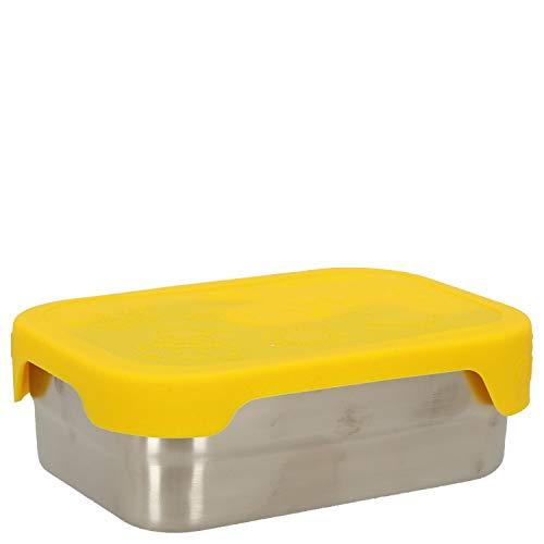 Affenzahn Brotdosen-Set (2er Pack) aus Edelstahl bpa-frei für Jungen und Mädchen im Kindergarten und Kita - Tiger
