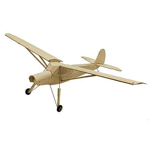 Dancing Wings Hobby Balsa Airplane 777mm Fi156 Storch KIT Toy Model for Adult;4CH Balsa Model Aircraft Need to Build (R0201)