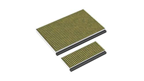 Neff Z51AIB1X6 / Accesorio para extractores/Filtro de olores Clean Air Plus/Filtro de alto rendimiento/Para recirculación de aire/para campanas inclinadas