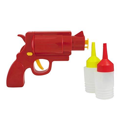 BESTONZON - 3 botellas de plástico para apretar botellas translúcidas para Ketchup Mustard Mayo apósitos, aceite de oliva y salsa para barbacoa