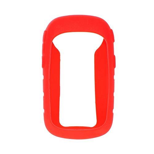 ZHANGYOUDEEU Tabla de código de Mano de Bicicleta Funda Protectora Colorida de Silicona a Prueba de Golpes para Garmin eTrex / 10/20/30 / 10x / 20x / 30x (Color : Red)