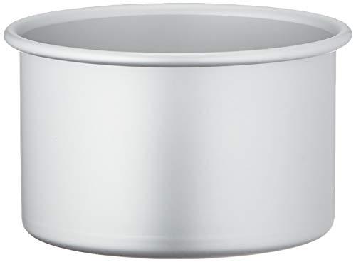 Decora, Argento, 0062611 Teglia Professionale Tonda, Alluminio Anodizzato, 15 x 10 cm