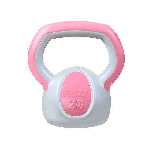 ZXQZ Pesa de Gimnasia Kettlebells, Pesas de Brazo, Pesas de Pilates, para Equipos de Entrenamiento de Gimnasio En Casa, para Culturismo y Levantamiento de Pesas Mancuerna pequeña (Color : Pink)