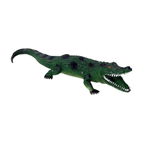 Sqweekies - Cocodrilo de Deluxebase. Figuras Animales Juguetes de temática Animal con Sonido. Réplica de cocodrilo con pitido y Divertido Que es un Gran Juguete para niños