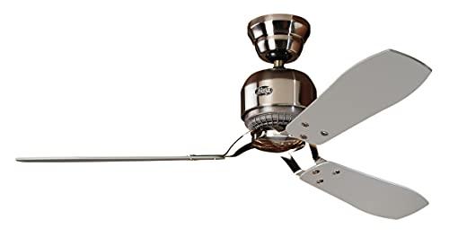 Hunter 24542 - Ventilador de techo, color plateado