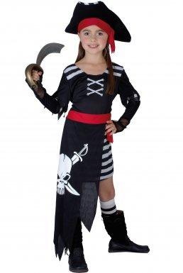 Déguisement pirate fille - 4 à 6 ans